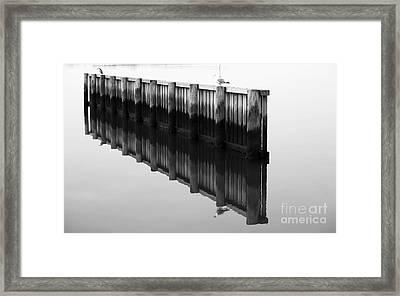 Choosing Sides Framed Print by John Rizzuto