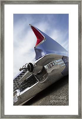Chopit Kustoms - Bubble Car Framed Print by Holly Martin