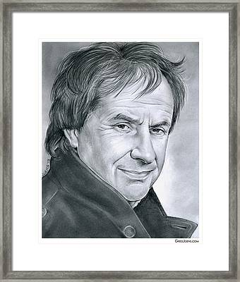 Chris De Burgh Framed Print by Greg Joens