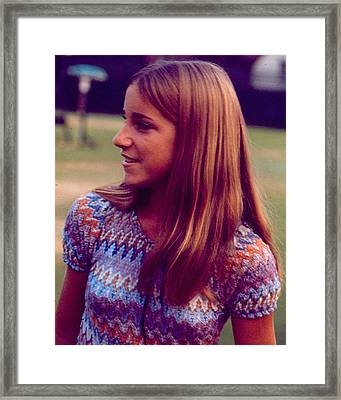 Chris Evert Framed Print by Retro Images Archive