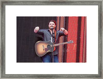 Chris Young Framed Print by Mike Burgquist