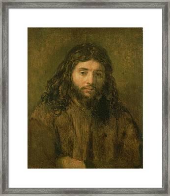 Christ, C.1656 Framed Print by Rembrandt Harmensz. van Rijn