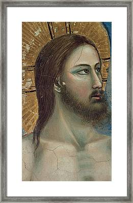 Christ Framed Print by Giotto di Bondone