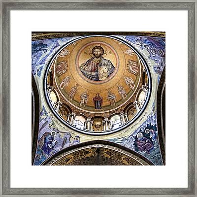 Christ Pantocrator -- No.5 Framed Print by Stephen Stookey
