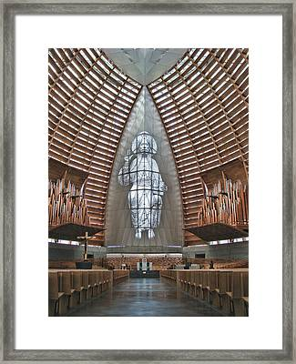 Christ The Light Framed Print by Samuel Sheats