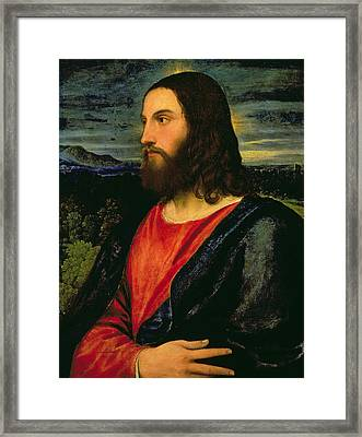Christ The Redeemer Framed Print by Titian