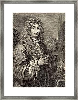 Christiaan Huyghens Framed Print by Universal History Archive/uig