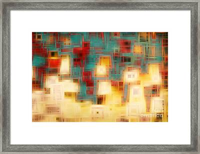 Christian Art- Abba Father. Romans 8 15 Framed Print by Mark Lawrence
