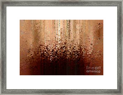 Christian Art- Going Up When Coming Down. Micah 1 3 Framed Print by Mark Lawrence