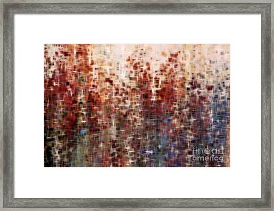 Christian Art- The Past The Now The Coming Years. Isaiah 45 21 Framed Print by Mark Lawrence