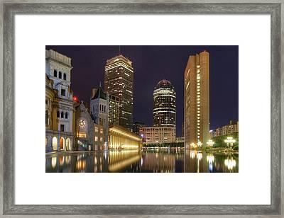 Christian Science Center-boston Framed Print by Joann Vitali