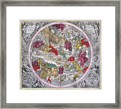 Christianized Constellations, 1708 Framed Print by Science Photo Library