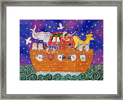 Christmas Ark Framed Print by Cathy Baxter