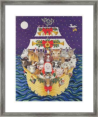Christmas Arrival  Framed Print by Pat Scott