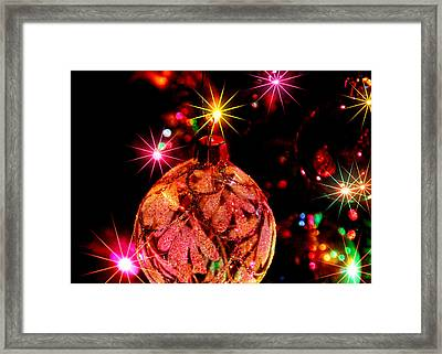 Christmas Card Design #2 Framed Print by Bill Kesler