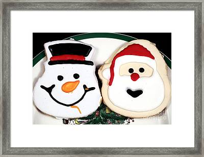 Christmas Cookies Framed Print by John Rizzuto