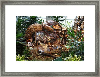 Christmas Display - Us Botanic Garden - 011331 Framed Print by DC Photographer