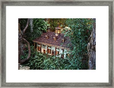 Christmas Display - Us Botanic Garden - 011342 Framed Print by DC Photographer