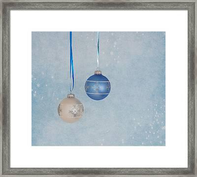 Christmas Elegance Framed Print by Kim Hojnacki