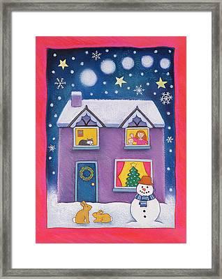 Christmas Eve Framed Print by Cathy Baxter