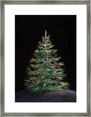 Christmas Eve Framed Print by Anastasiya Malakhova