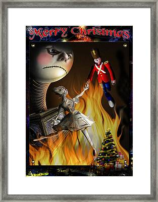 Christmas Greeting Card IIi Framed Print by Alessandro Della Pietra