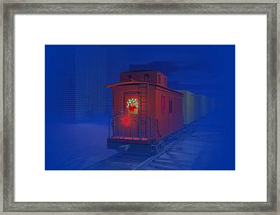 Christmas Greetings Framed Print by Carol and Mike Werner