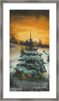Christmas Is Coming Framed Print by Sorin Apostolescu