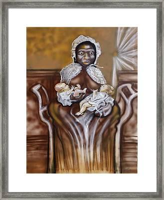Christmas Milk Original Framed Print by Ernie Mapp