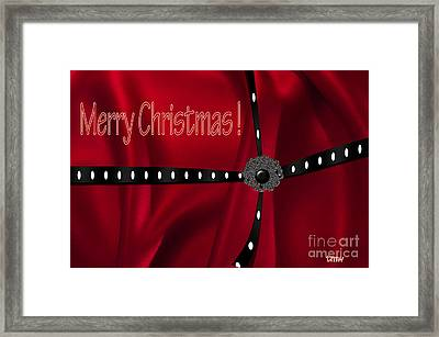 Christs Birthday Framed Print featuring the photograph Christmas One by Tina M Wenger