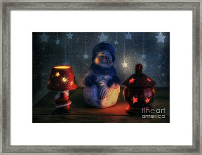 Christmas Ornaments Framed Print by Ian Mitchell