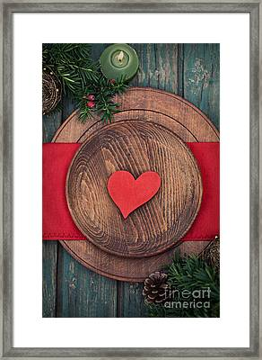 Christmas Ornaments Framed Print by Mythja  Photography