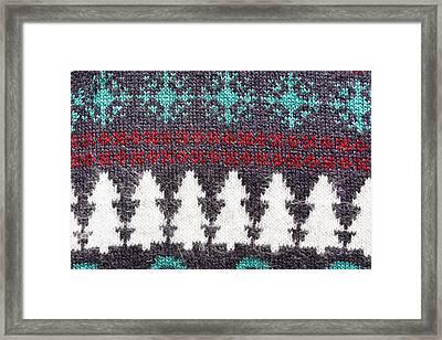 Christmas Pattern  Framed Print by Tom Gowanlock
