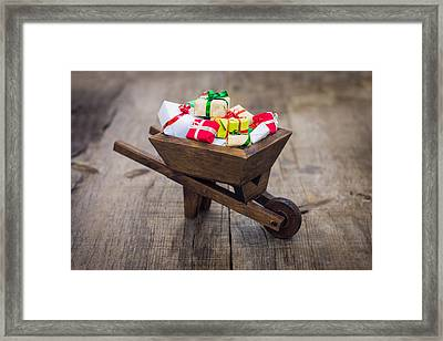 Christmas Presents Framed Print by Aged Pixel