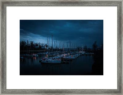 Christmas Sail Framed Print by Kevin Court