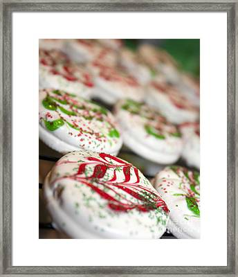 Christmas Sweets Framed Print by Christine Wiegand
