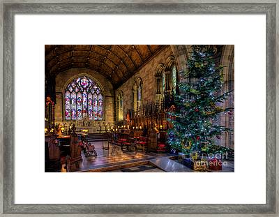 Christmas Time Framed Print by Adrian Evans