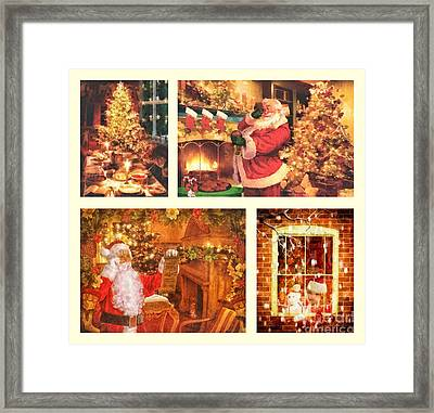 Christmas Time Framed Print by Mo T