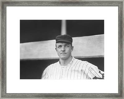 Christy Mathewson Close Up Framed Print by Retro Images Archive