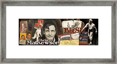 Christy Mathewson Panoramic Framed Print by Retro Images Archive