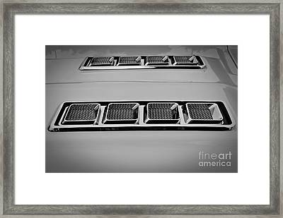 Chrome Framed Print by Chalet Roome-Rigdon