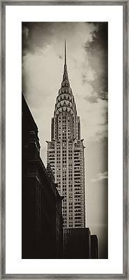 Chrysler Framed Print by Andrew Paranavitana