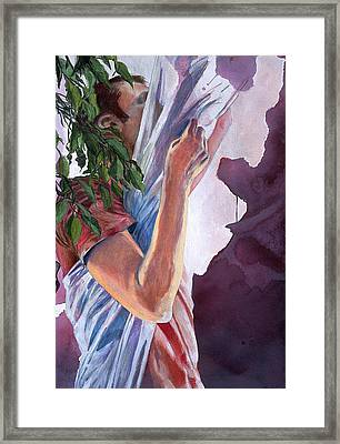 Chrysalis Framed Print by Rene Capone