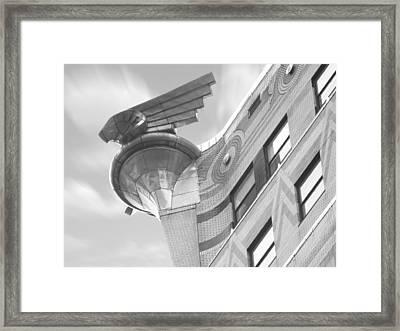 Chrysler Building 4 Framed Print by Mike McGlothlen