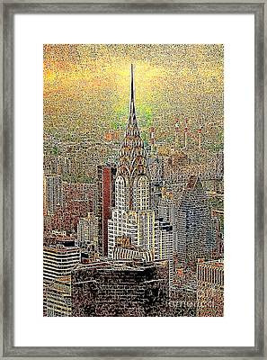 Chrysler Building New York City 20130425 Framed Print by Wingsdomain Art and Photography