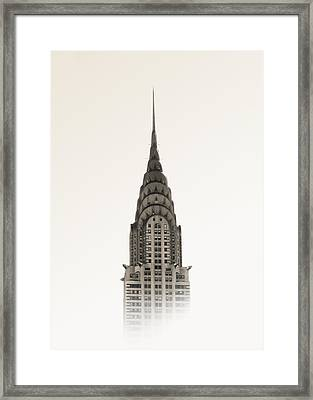 Chrysler Building - Nyc Framed Print by Nicklas Gustafsson