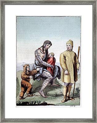 Chukchi Family Framed Print by Cci Archives