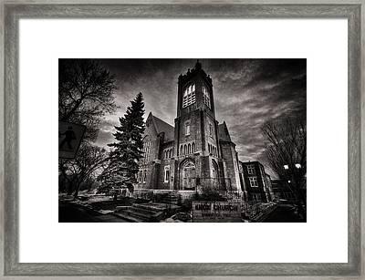 Church Gothic Framed Print by Ian MacDonald