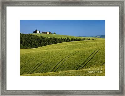 Church In The Field Framed Print by Brian Jannsen
