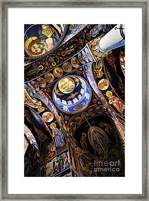 Church Interior Framed Print by Elena Elisseeva